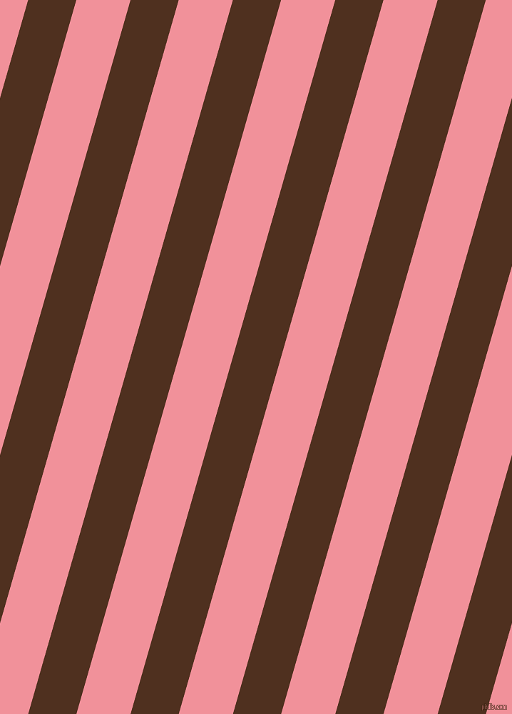 74 degree angle lines stripes, 65 pixel line width, 73 pixel line spacing, Indian Tan and Wewak stripes and lines seamless tileable
