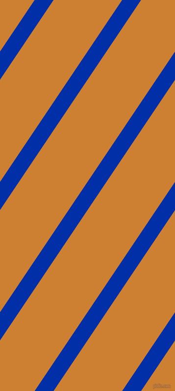 international klein blue and bronze stripes and lines seamless