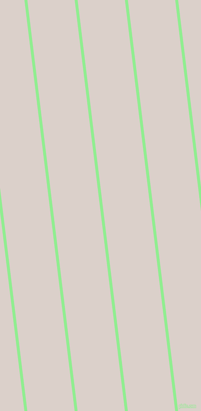 97 degree angle lines stripes, 6 pixel line width, 97 pixel line spacing, Light Green and Swiss Coffee stripes and lines seamless tileable