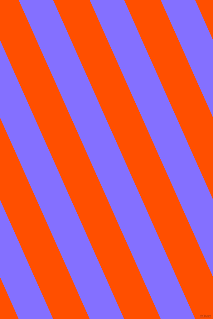 114 degree angle lines stripes, 101 pixel line width, 107 pixel line spacing, Light Slate Blue and International Orange stripes and lines seamless tileable