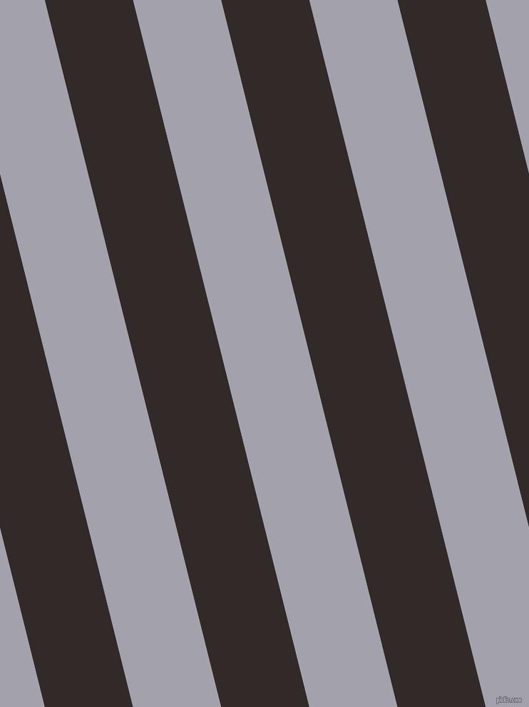 104 degree angle lines stripes, 120 pixel line width, 120 pixel line spacing, Livid Brown and Spun Pearl stripes and lines seamless tileable