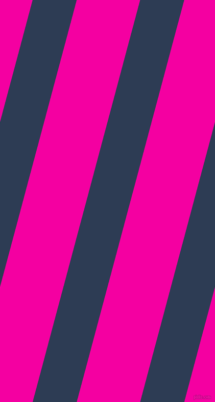 75 degree angle lines stripes, 87 pixel line width, 125 pixel line spacing, Madison and Hollywood Cerise stripes and lines seamless tileable
