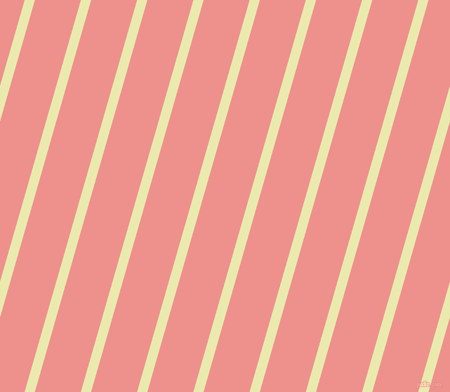 74 degree angle lines stripes, 14 pixel line width, 63 pixel line spacing, Medium Goldenrod and Sweet Pink stripes and lines seamless tileable
