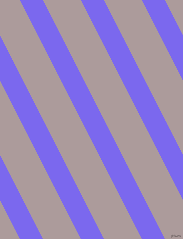 117 degree angle lines stripes, 70 pixel line width, 115 pixel line spacing, Medium Slate Blue and Dusty Grey stripes and lines seamless tileable