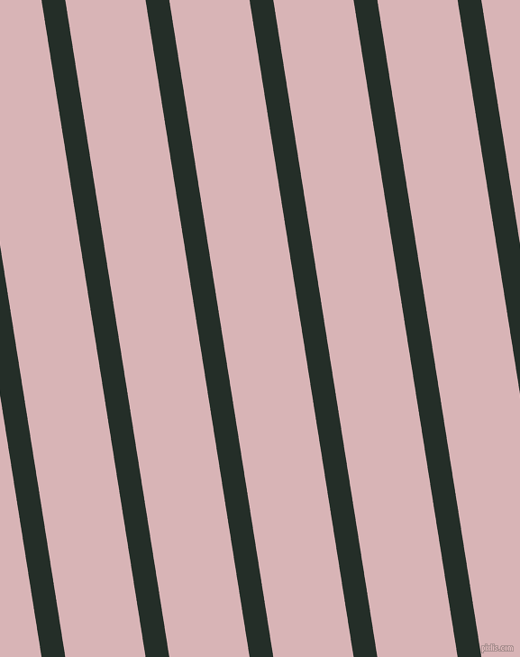 99 degree angle lines stripes, 26 pixel line width, 88 pixel line spacing, Midnight Moss and Pink Flare stripes and lines seamless tileable