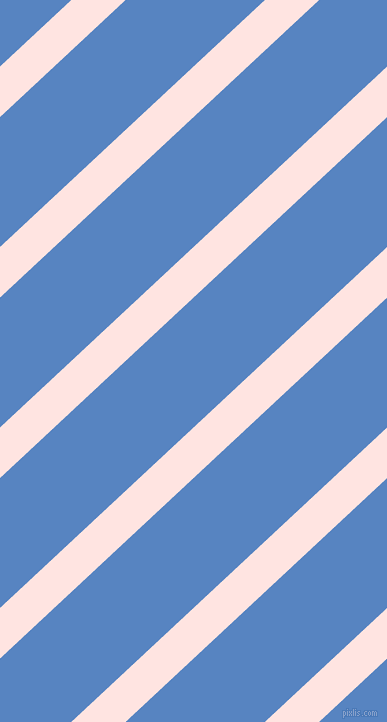 43 degree angle lines stripes, 37 pixel line width, 95 pixel line spacing, Misty Rose and Havelock Blue stripes and lines seamless tileable