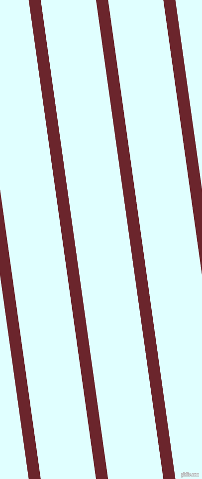98 degree angle lines stripes, 24 pixel line width, 110 pixel line spacing, Monarch and Light Cyan stripes and lines seamless tileable