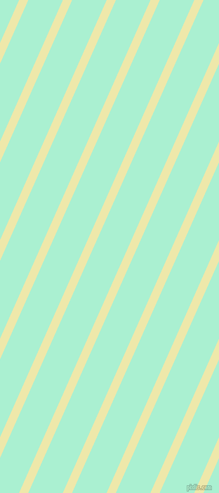 66 degree angle lines stripes, 12 pixel line width, 45 pixel line spacing, Pale Goldenrod and Magic Mint stripes and lines seamless tileable