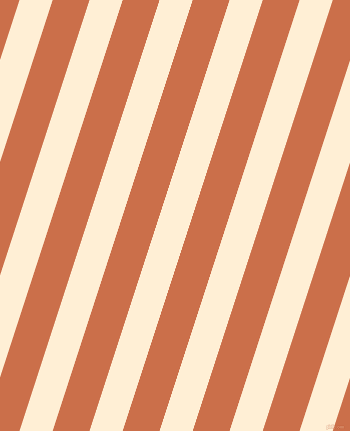 72 degree angle lines stripes, 63 pixel line width, 70 pixel line spacing, Papaya Whip and Red Damask stripes and lines seamless tileable
