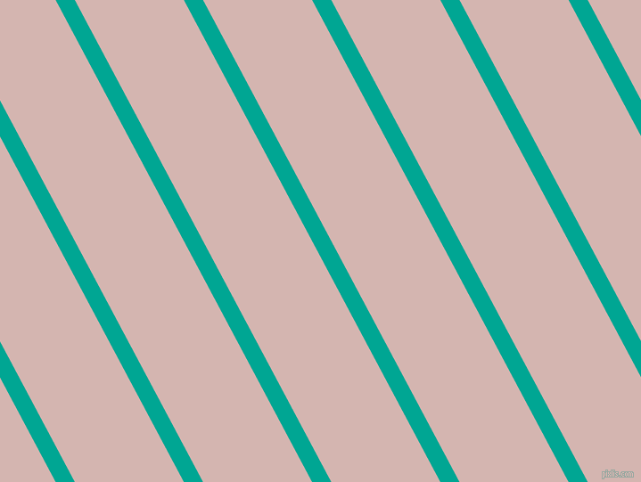 118 degree angle lines stripes, 19 pixel line width, 108 pixel line spacing, Persian Green and Oyster Pink stripes and lines seamless tileable