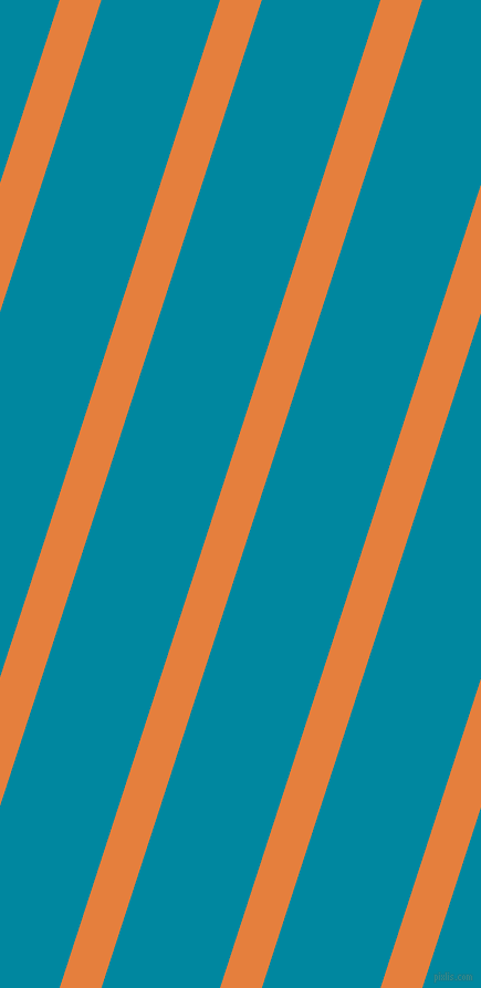 72 degree angle lines stripes, 36 pixel line width, 102 pixel line spacing, Pizazz and Eastern Blue stripes and lines seamless tileable
