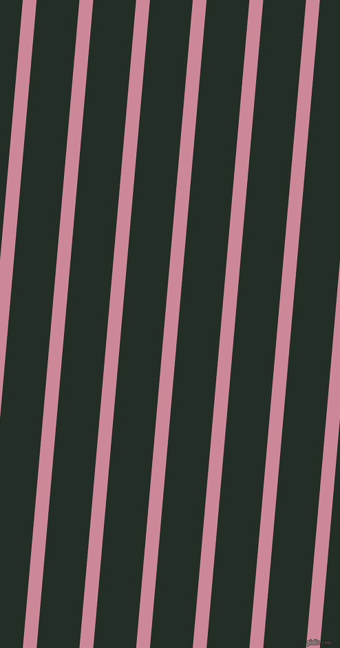 85 degree angle lines stripes, 20 pixel line width, 62 pixel line spacing, Puce and Black Bean stripes and lines seamless tileable