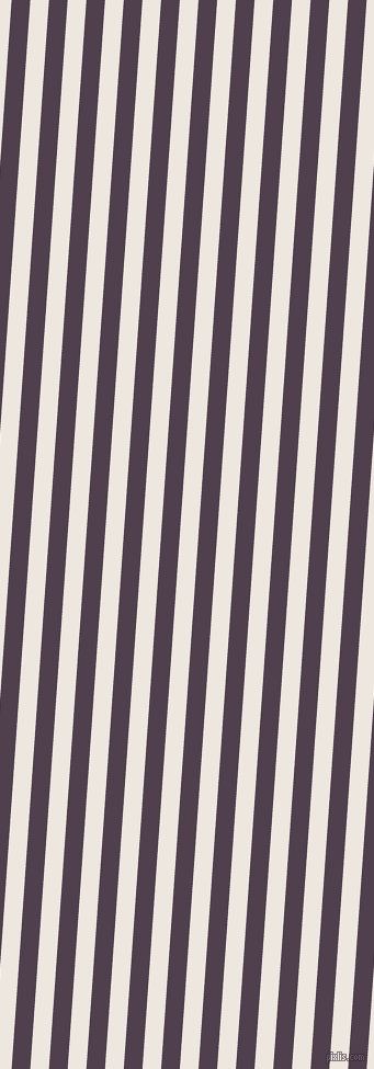 86 degree angle lines stripes, 17 pixel line width, 17 pixel line spacing, Purple Taupe and Desert Storm stripes and lines seamless tileable