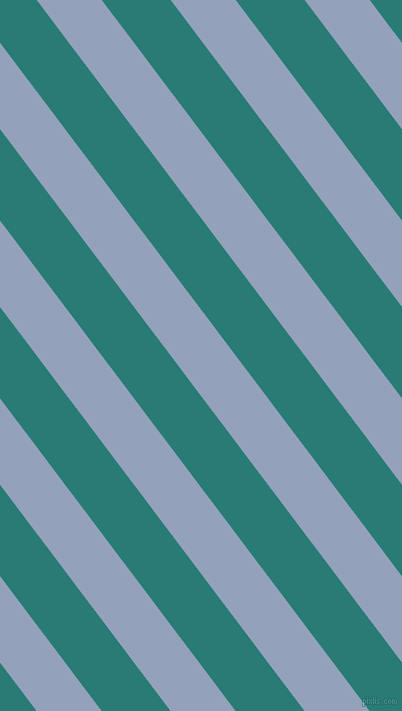 127 degree angle lines stripes, 52 pixel line width, 55 pixel line spacing, Rock Blue and Elm stripes and lines seamless tileable