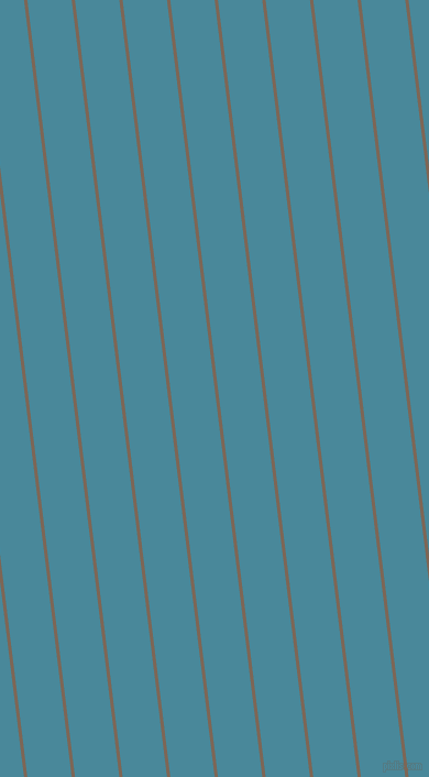 97 degree angle lines stripes, 3 pixel line width, 40 pixel line spacing, Roman Coffee and Hippie Blue stripes and lines seamless tileable