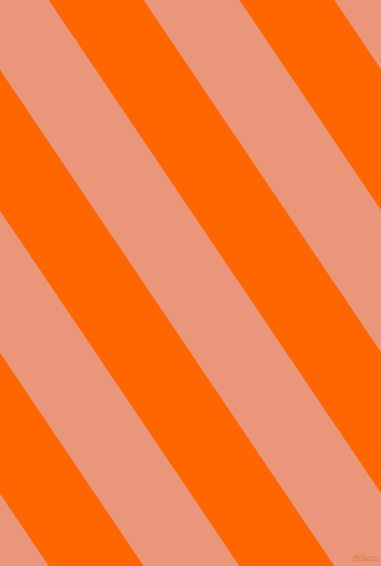 124 degree angle lines stripes, 114 pixel line width, 115 pixel line spacing, Safety Orange and Dark Salmon stripes and lines seamless tileable