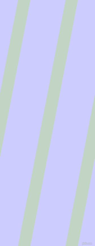 79 degree angle lines stripes, 43 pixel line width, 122 pixel line spacing, Sea Mist and Lavender Blue stripes and lines seamless tileable