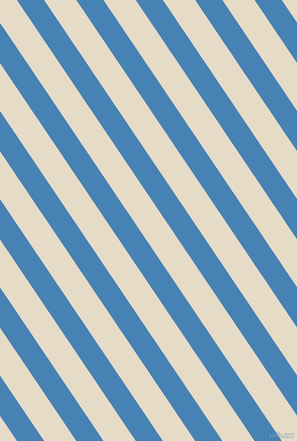 124 degree angle lines stripes, 32 pixel line width, 38 pixel line spacing, Steel Blue and Half Spanish White stripes and lines seamless tileable