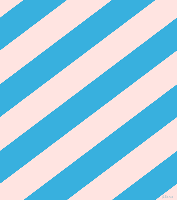 37 degree angle lines stripes, 85 pixel line width, 88 pixel line spacing, Summer Sky and Misty Rose stripes and lines seamless tileable
