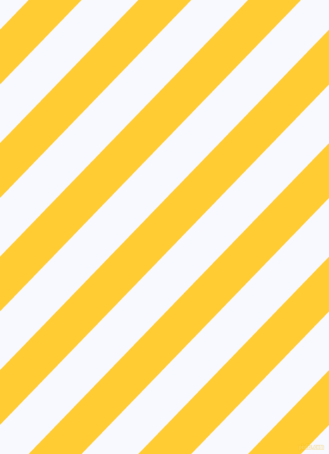 46 degree angle lines stripes, 54 pixel line width, 58 pixel line spacing, Sunglow and Ghost White stripes and lines seamless tileable