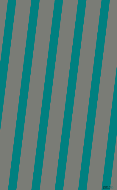 83 degree angle lines stripes, 28 pixel line width, 50 pixel line spacing, Teal and Gunsmoke stripes and lines seamless tileable
