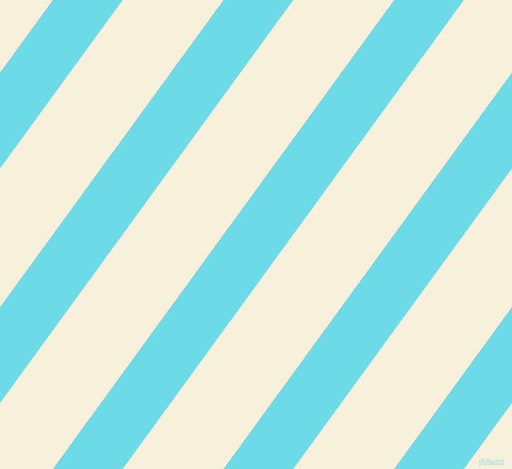 54 degree angle lines stripes, 80 pixel line width, 116 pixel line spacing, Turquoise Blue and Apricot White stripes and lines seamless tileable