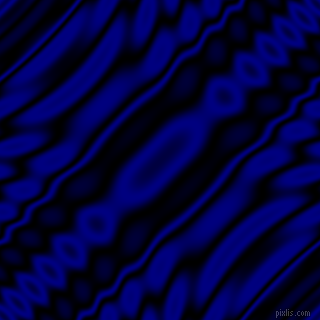 , Black and Navy wavy plasma ripple seamless tileable