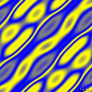 , Blue and Yellow wavy plasma seamless tileable