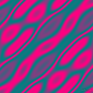, Teal and Deep Pink wavy plasma seamless tileable